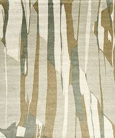 """""""Crevasse"""" from Lapchi's 2015 collection. Lapchi will exhibit their handwoven rugs at NYICS 2015 at the Metropolitan Pavilion."""