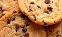 A classic! Choc-chip-cookies