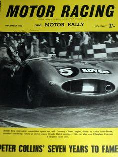 1956 DRIVER OF THE YEAR PETER COLLINS VANWALL + JOHN WYER JAGUAR TEAM MANAGEMENT Formula 1, Jaguar, Competition, Celebration, Management, Racing, Ebay, Running