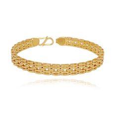 Gold Bracelet Indian, Mens Gold Bracelets, Trendy Bracelets, Gold Plated Bracelets, Gold Ring Designs, Gold Bangles Design, Jewelry Design, Body Jewellery, Fashion Jewellery