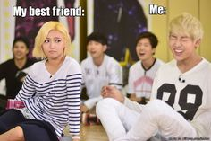 Haha I was showing my friend kpop stuff yesterday and I swear this is so accurate XD