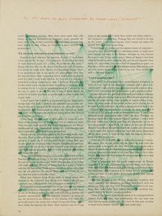 SOL LEWITT - All ifs ands or buts connected by green lines - Simple, elegant and uniquely beautiful! Anyone can make their own Sol Lewitt piece. Word Art, Adara Sanchez, Michel Leiris, Conceptual Art, Data Visualization, Altered Books, American Artists, Les Oeuvres, Contemporary Art