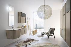 Bagno Cerasa Suede progettazione casa funzionale, prodotti di arredamento Bassi Arredamenti