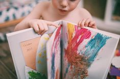 Scan your kids drawings and make a book! :)