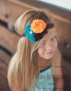 Fall or Thanksgiving headband for babies, kids, teens or adults