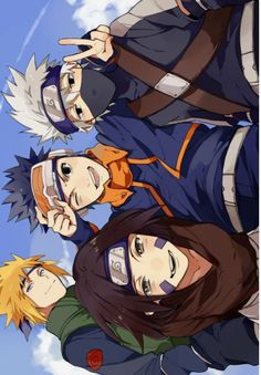 Sadly, they all died except for Kakashi.