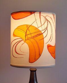 Finn Fab Designs Autumn Lamp Shade by FinnFabDesigns on Etsy