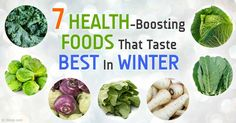 Here are seven healthy winter vegetables whose flavors taste better in colder weather. http://articles.mercola.com/sites/articles/archive/2015/01/26/7-winter-vegetables.aspx