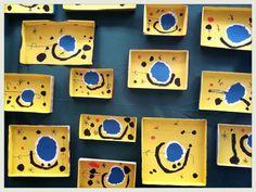 Pintam dins tapes de capses de cartró ( Exposició 14 ). 4 anys. Kindergarten Art, Preschool Art, 2nd Grade Art, Pop Up Art, Artist Project, Ecole Art, Art Curriculum, School Art Projects, Arts Ed