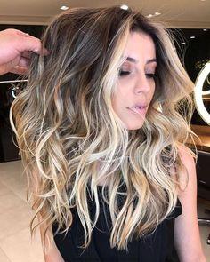 2018 Balayage Peinados para Cabello Largo – Balayage Pelo Ideas