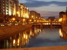 Dambovita River, Bucharest Romania