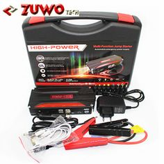 New Upgraded 12V Car Jump Starter Multi-Function Power Bank emergency Battery Charger Booster Mobile Phone Laptop