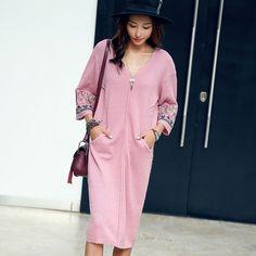 Сочетание современных фасонов и традиционной вышивки, насыщенные цвета и гармоничность образов в нарядах китайского бренда Liebo - Ярмарка Мастеров - ручная работа, handmade