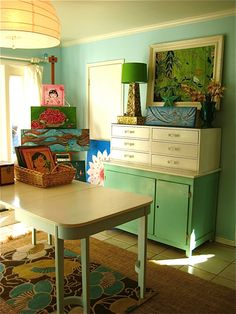 creative spaces craft room feature on joyful abode (storage, organization) joyfulabode.com