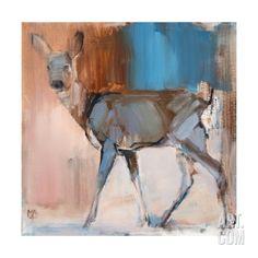 Doe a Deer, 2014, Giclee Print by Mark Adlington at Art.com