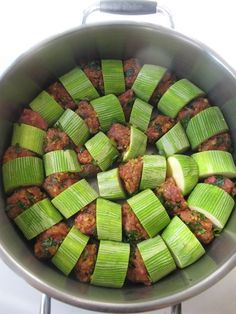 Zucchini and beef meat balls Vegetable Recipes, Meat Recipes, Cooking Recipes, Healthy Recipes, Cooking Food, Yummy Recipes, Iftar, Good Food, Yummy Food