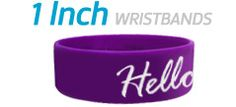 Order Custom One Inch Wristbands and other things
