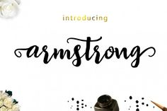 Armstrong Font By Genesis Lab