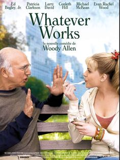 Whatever Works : Affiche Woody Allen