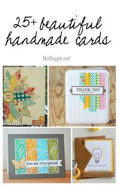25+ beautiful handmade cards | NoBiggie.net