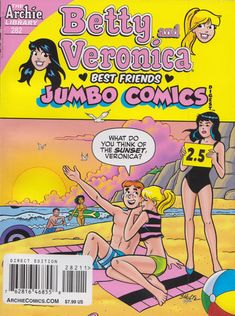 GCD :: Cover :: B&V Friends Double Digest Magazine #282 Archie Comic Books, Archie Comics, Double Digest, Babysitting Jobs, Archie Andrews, Betty And Veronica, Comics Story, Vintage Toys, Best Friends
