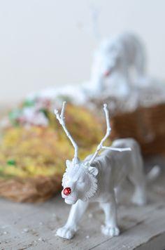 DIY Reindeer Animals | Camille Styles