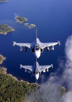 "Saab JAS 39 Gripen (""Griffon"") - Flygvapnet (Swedish Air Force), Sweden"