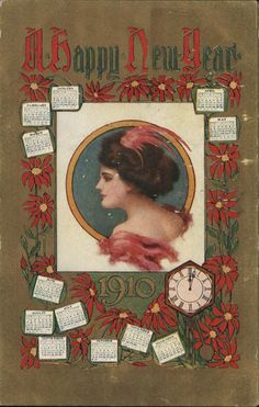 A Happy New Year 1910