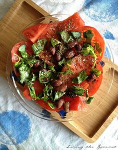 Tomato & Basil Salad Recipe on Yummly. @yummly #recipe