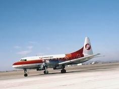Lawton Oklahoma Municipal Airport - Frontier Airlines - January 1981 by duggar11, via Flickr