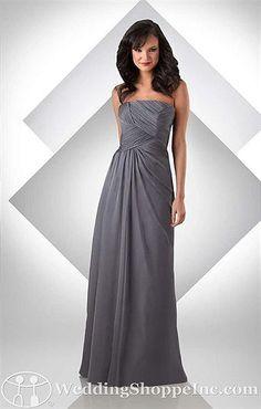 love this style for long dresses...Bari Jay Bridesmaid Dress 305 $184.00