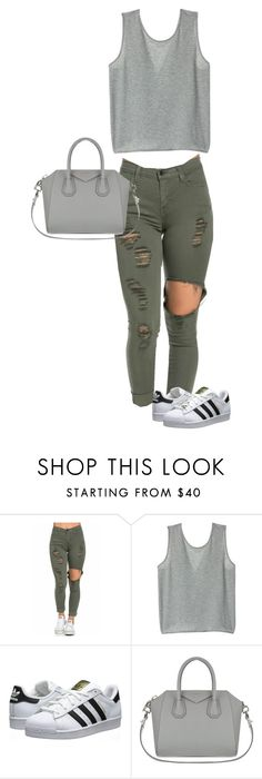 """""""Untitled #24"""" by marcabaceira on Polyvore featuring adidas Originals and Givenchy"""