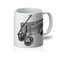 soap box / pull wagon / cart Mug