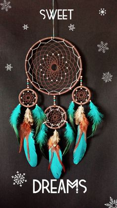 Attrape-rêve Dream catcher grandes dreamcatcher par MagicNursery