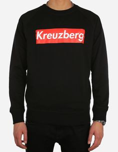 Depot2 Berlin - Kreuzberg Super Sweatshirt black red