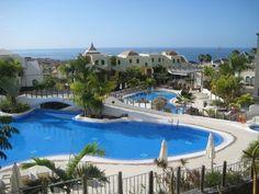 Huge pool at Villa Maria Resort - Costa Adeje - Canary Is. - Family Friendly Holidays