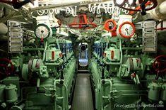 U-995: a masszív dízelmotorok