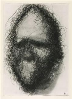 Untitled (Death Mask) - Arnulf Rainer