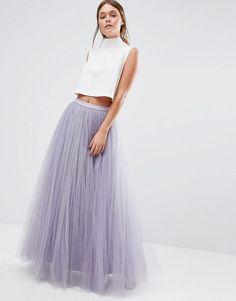 Little Mistress   Little Mistress Maxi Tulle Skirt