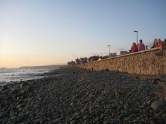 Seafront near Faro de Maspalomas, 2009.
