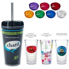 Promotional 16 oz. Tritan Double Wall Tumbler | Customized Tumblers | Promotional Tumblers