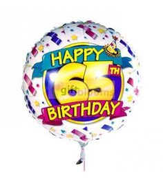 Perfect For A 65th Birthday Make Someone S Extra Special By Sending This