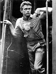 "James Dean in ""East of Eden"", (1955)."