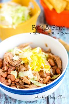 Mandy's Recipe Box: Slow Cooker Pork & Pinto Stew
