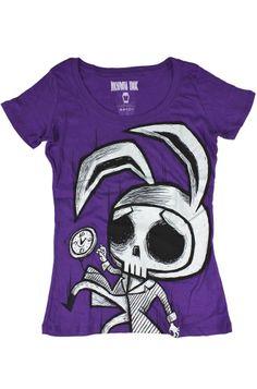 Akumu Ink - White Rabbit T-Shirt
