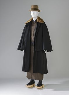 Download pattern of Man's Overcoat (Tonbi) Japan, Taisho period (1912–26) to Showa period (1926–89); 1925–35