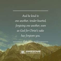 As husbands and wives, we ought to love our spouses as Christ has loved us.