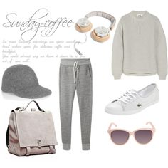 Sunday Coffee outfit inspiration, relaxed