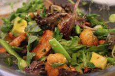 """Mandarin Orange """"Chicken"""" Salad. Vegan. Transition Recipe"""