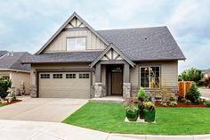 Renaissance Homes: New Homes in Portland Oregon Note exterior paint scheme